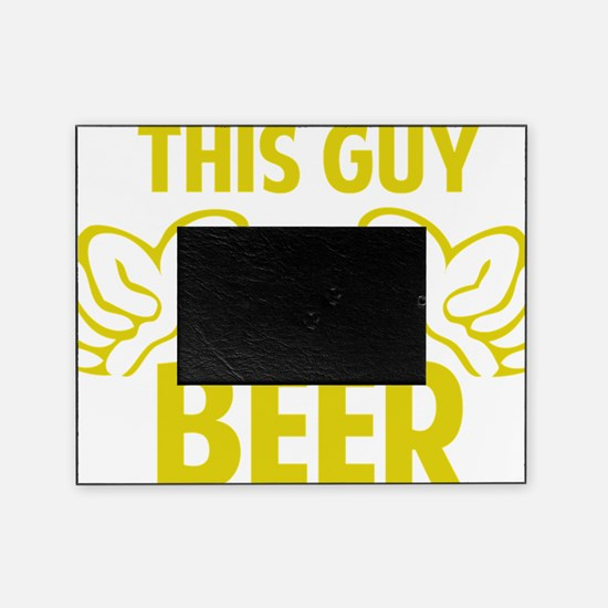 thisGuyBEER1C Picture Frame