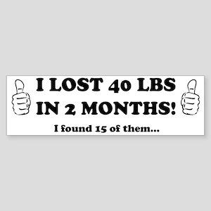 lost Sticker (Bumper)