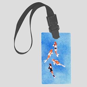Koi iPhone3G_case Large Luggage Tag