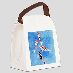 Koi iPad_Case Canvas Lunch Bag