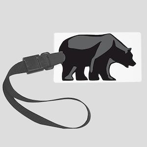 bear Large Luggage Tag