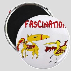 just fascination_pegasus and bird_fun Magnet