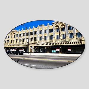 14Mar09_Uptown_007-NOTECARD Sticker (Oval)