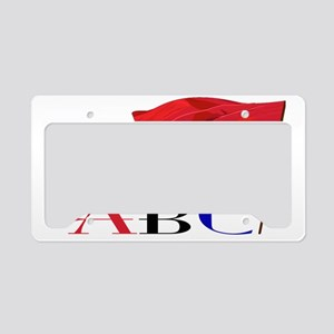 ABC3 License Plate Holder