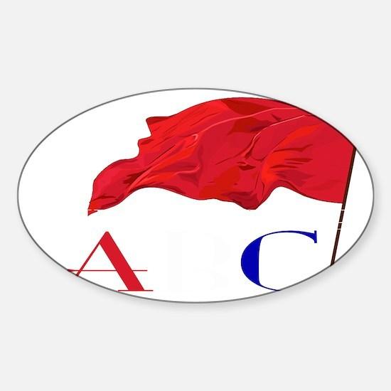 ABC2 Sticker (Oval)