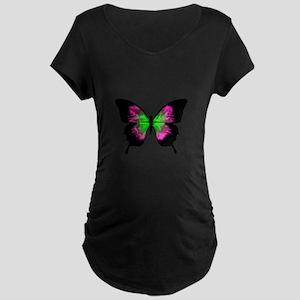 Butterfly Maternity 2 Maternity T-Shirt