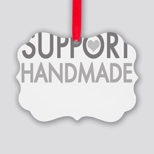Support handmade 1 light Picture Ornament