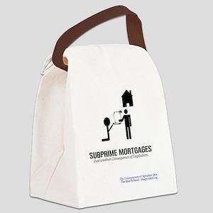 SubprimeMerch Canvas Lunch Bag