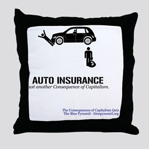 AutoInsMerch Throw Pillow