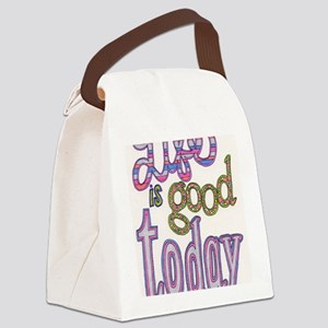 life_is_good Canvas Lunch Bag