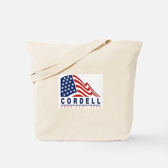 Don Cordell - President 2008 Tote Bag