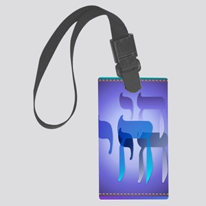 LargePosterMy Chai Large Luggage Tag