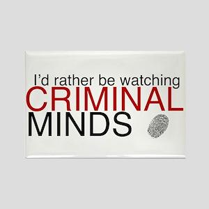 Watch Criminal Minds Rectangle Magnet