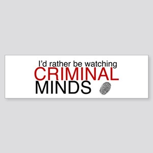 Watch Criminal Minds Sticker (Bumper)
