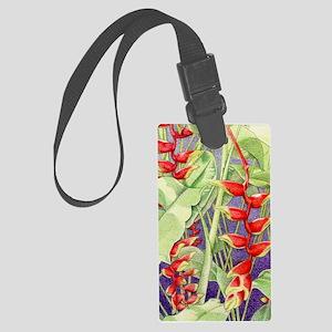 Heliconia iPad2_Case Large Luggage Tag