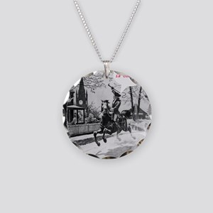 Paul_Reveres_ride Necklace Circle Charm