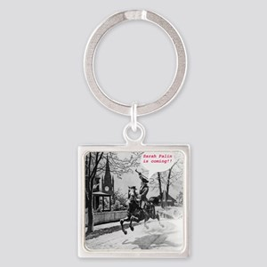 Paul_Reveres_ride Square Keychain