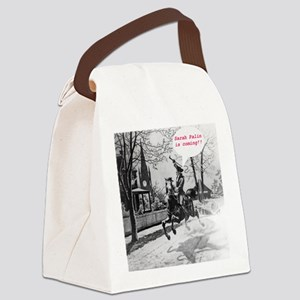Paul_Reveres_ride Canvas Lunch Bag