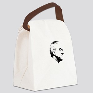 Liberty-blk Canvas Lunch Bag