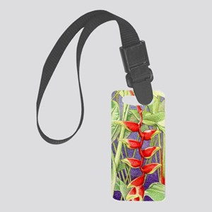 Heliconia border iphone3G_case Small Luggage Tag