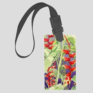 Heliconia iPad_Case Large Luggage Tag