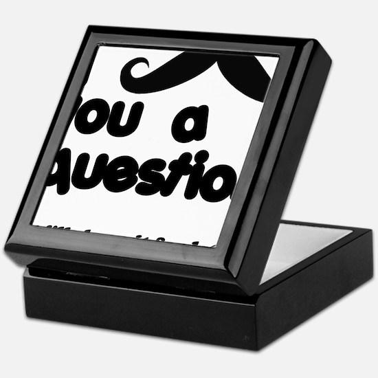 moustacheq Keepsake Box