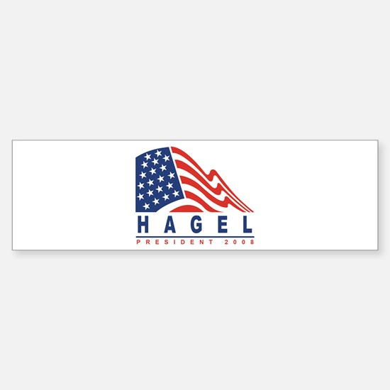 Chuck Hagel - President 2008 Bumper Bumper Bumper Sticker