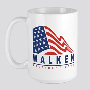 Christopher Walken - Presiden Large Mug
