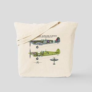 SpitfireBib Tote Bag