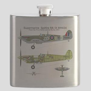 SpitfireBib Flask