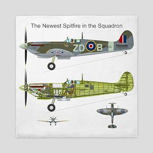 SpitfireOnePiece Queen Duvet