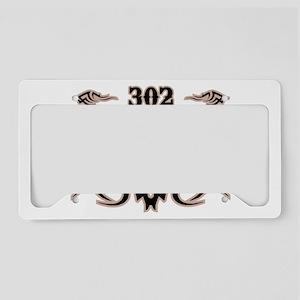 Wilmington 302 License Plate Holder