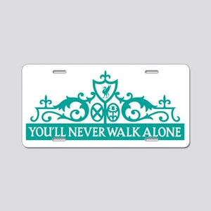 SOC Liverpool Walk Alone Aluminum License Plate