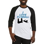Love Flyball (2) Baseball Jersey