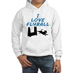Love Flyball (2) Hooded Sweatshirt