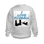 Love Flyball (2) Kids Sweatshirt