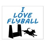 Love Flyball (2) Small Poster