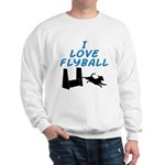 Love Flyball (2) Sweatshirt