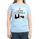 Love Flyball (2) Women's Light T-Shirt