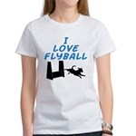 Love Flyball (2) Women's T-Shirt