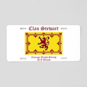Stewart Aluminum License Plate