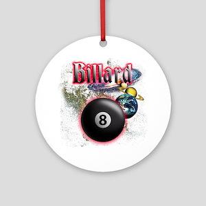 billard Round Ornament