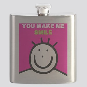 You make me smile Flask
