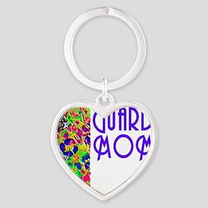 guard mom 2009 Heart Keychain