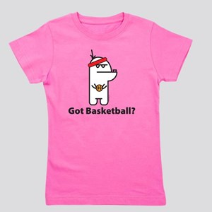 baskeball Girl's Tee