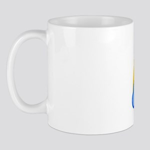 70s Rainbow Mug