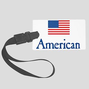 American Under FLAG Large Luggage Tag