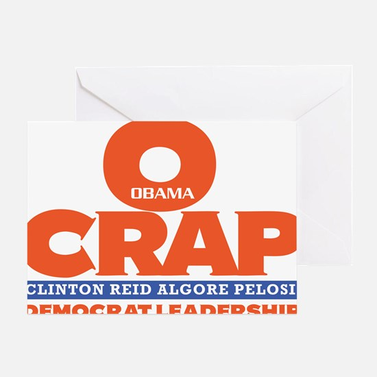 OCRAP For all Shirt colors Greeting Card