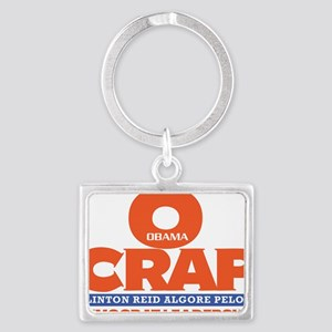 OCRAP For all Shirt colors Landscape Keychain