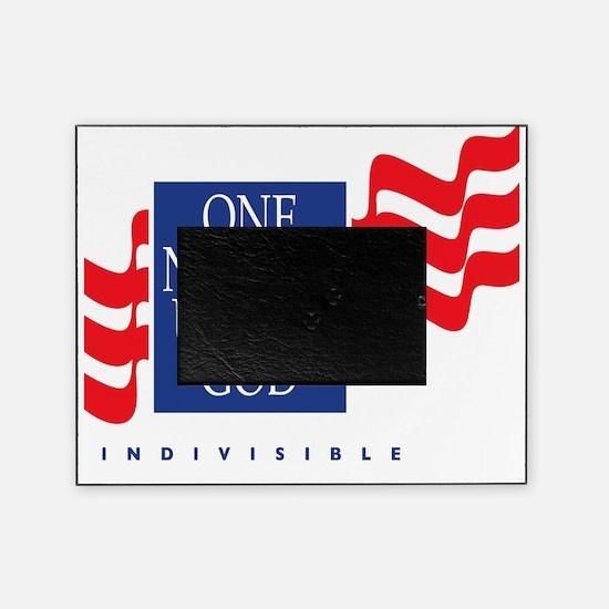 Under God Flag Picture Frame
